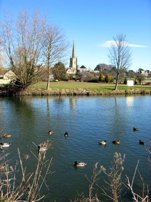 Ducks on Lechlade River